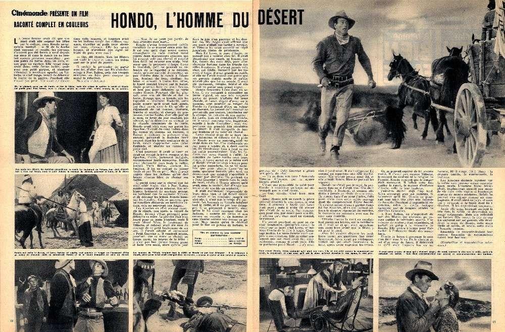 Hondo, l'Homme du Désert - Hondo - 1955 Projet18