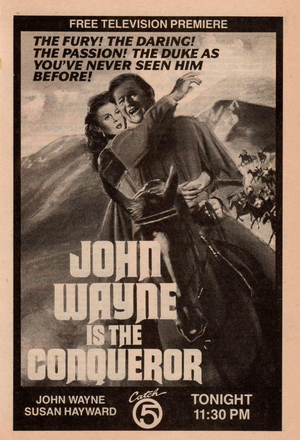Le Conquérant - The Conqueror - 1956 Revue_19