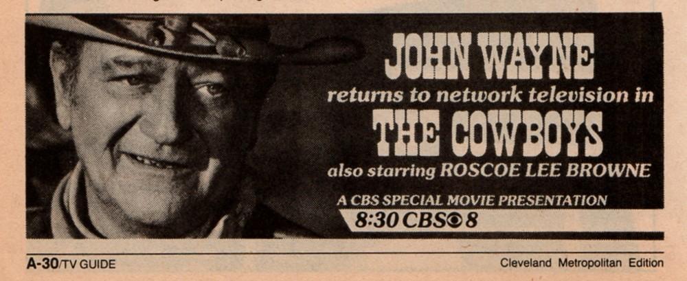 Les cowboys - The Cowboys - 1972 Revue_23
