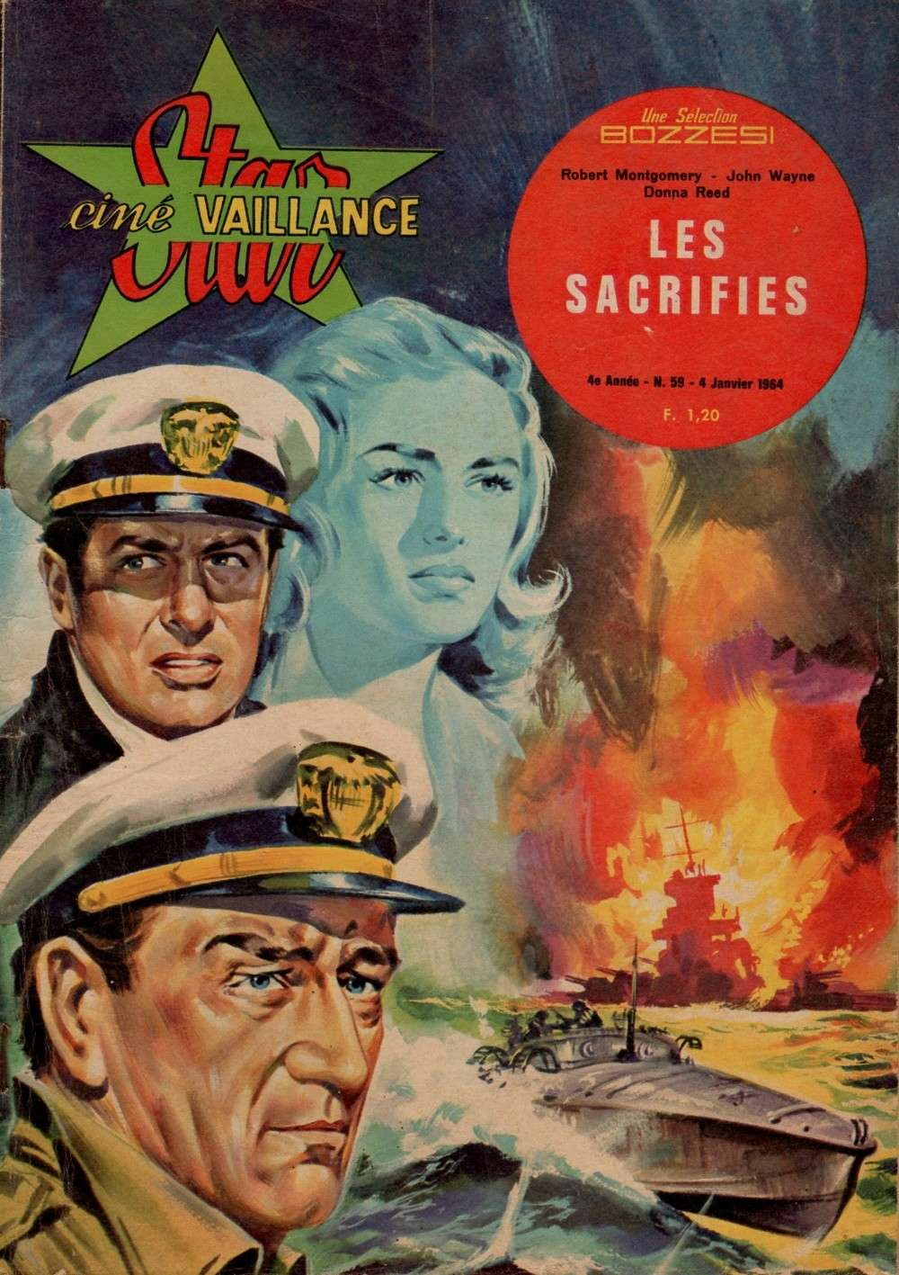 Les Sacrifiés - They were expendable - 1945 Star_c10