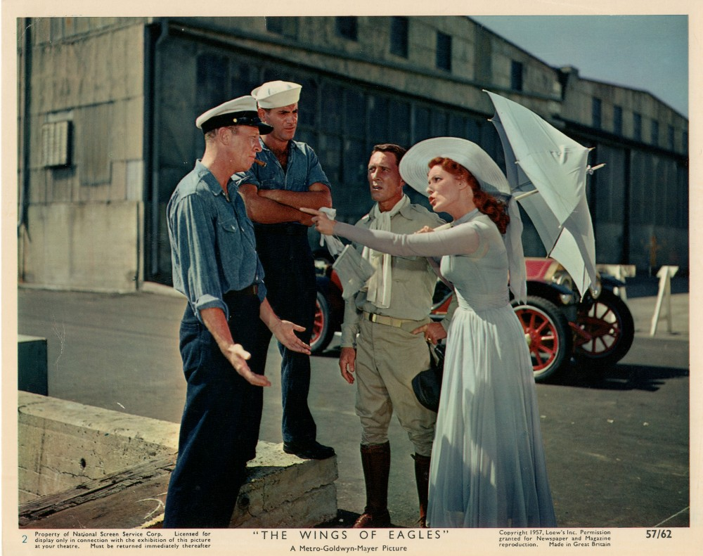 L'Aigle Vole au Soleil  - The Wings of Eagles - 1957 Wayne169