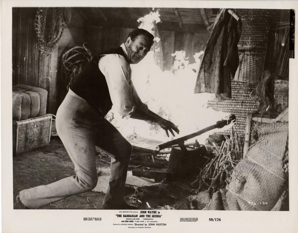 Le Barbare et la Geisha - The Barbarian and The Geisha -1958 Wayne191