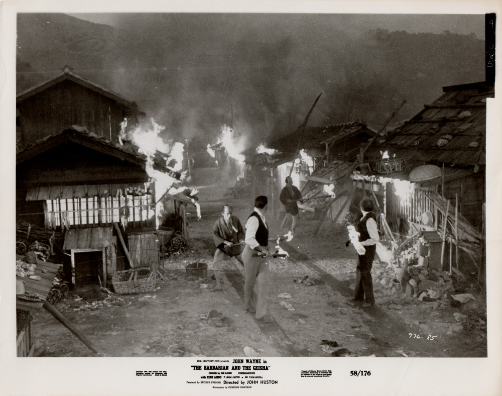 Le Barbare et la Geisha - The Barbarian and The Geisha -1958 Wayne304