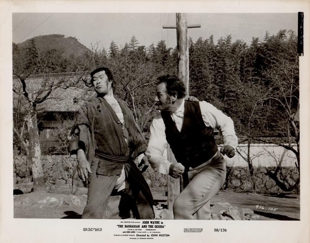 Le Barbare et la Geisha - The Barbarian and The Geisha -1958 Wayne305