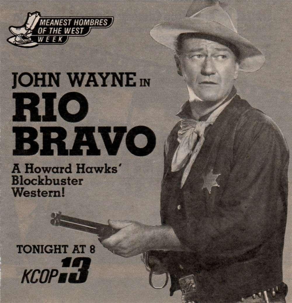 Rio Bravo - 1959 - Page 2 Wayne491