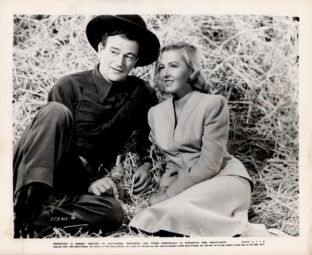 La Fille et son Cowboy - A Lady Takes A Chance - 1943 Wayne596