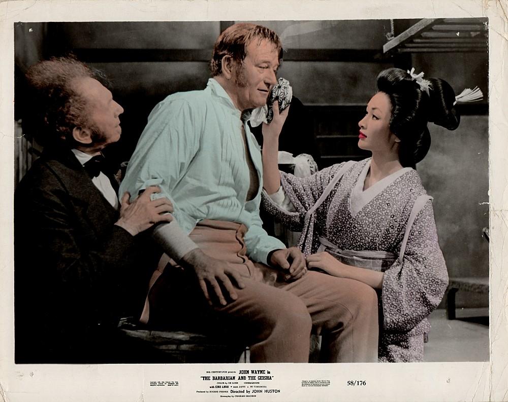 Le Barbare et la Geisha - The Barbarian and The Geisha -1958 Wayne697