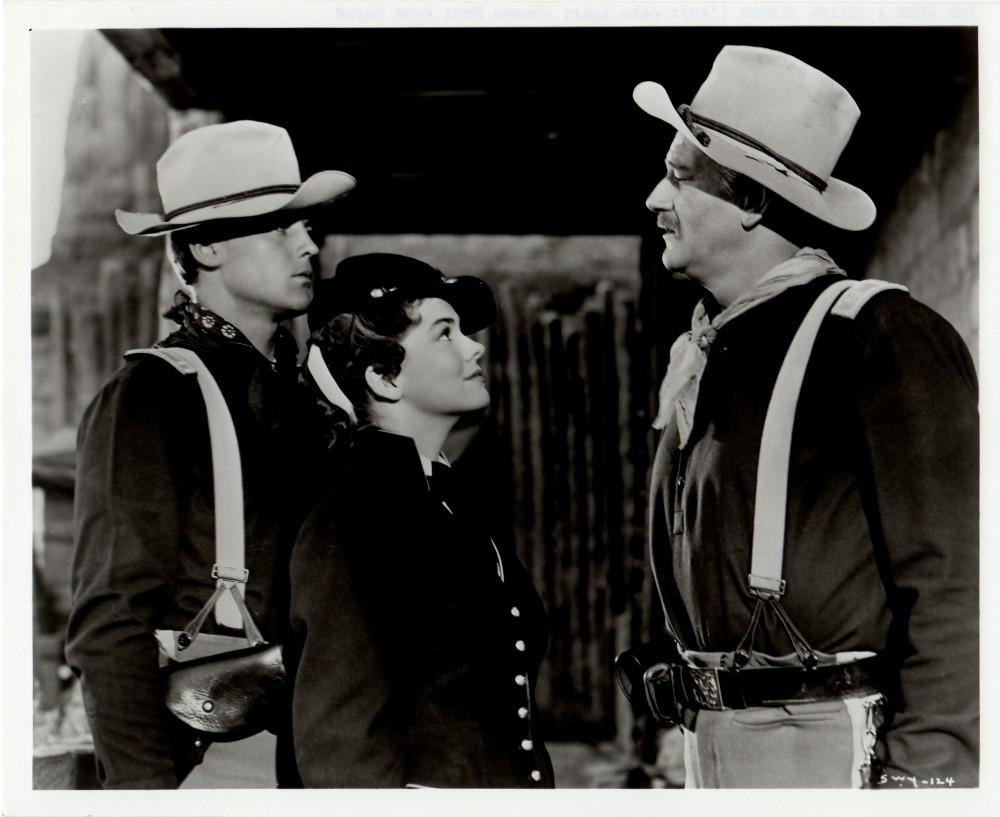 La charge héroique - She wore a yellow Ribbon - 1949 Wayne731