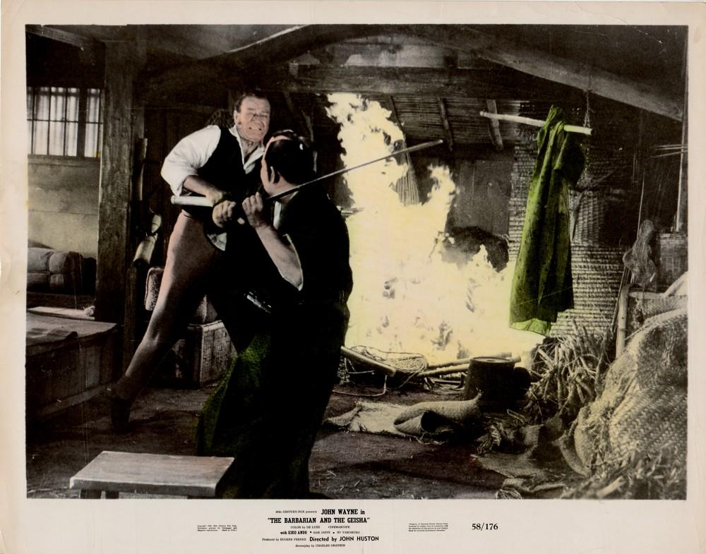 Le Barbare et la Geisha - The Barbarian and The Geisha -1958 Wayne740