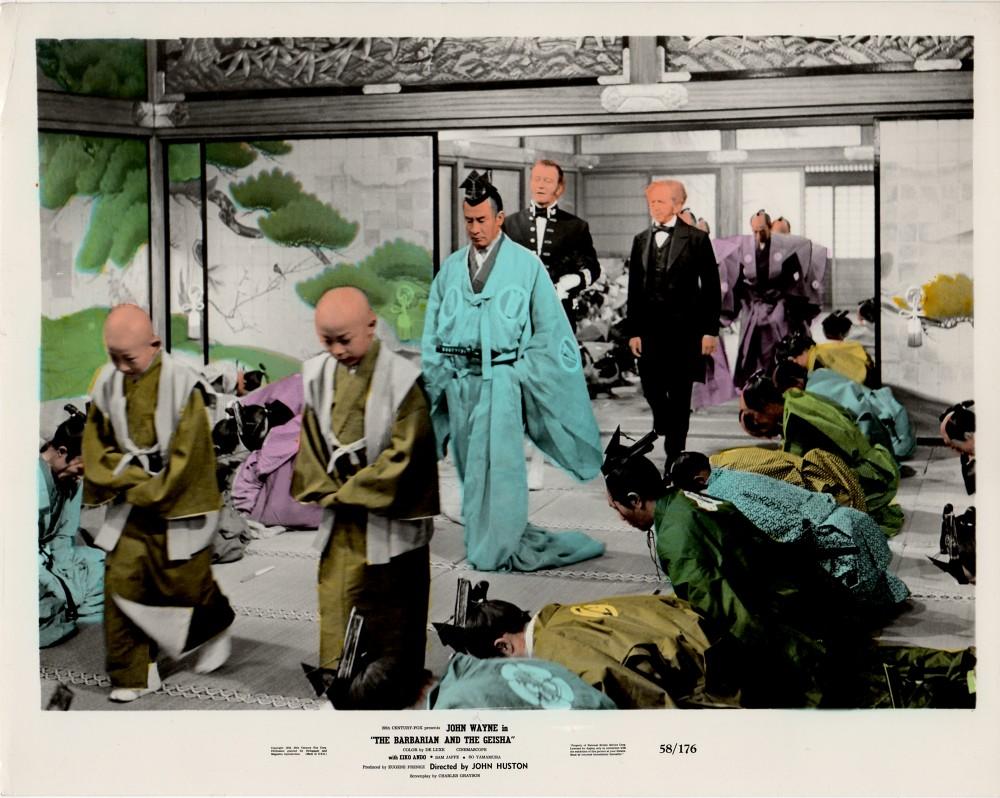 Le Barbare et la Geisha - The Barbarian and The Geisha -1958 Wayne747