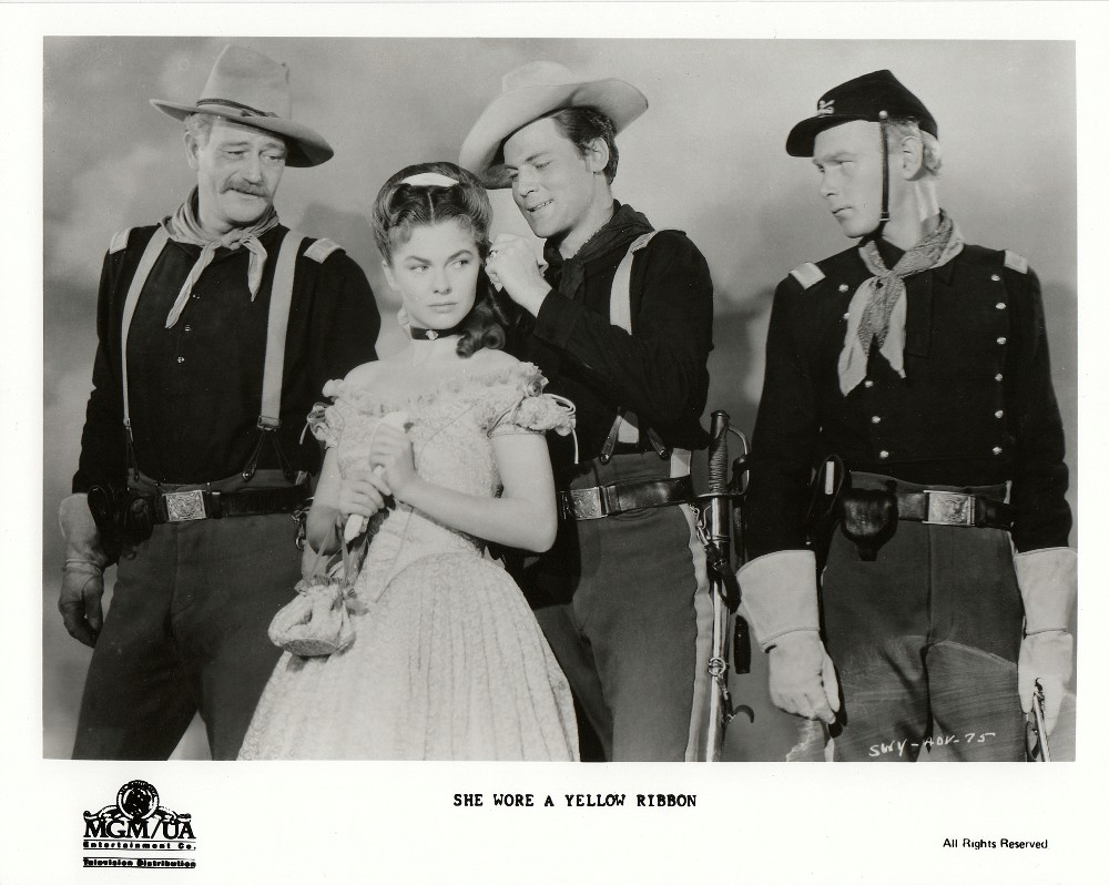 La charge héroique - She wore a yellow Ribbon - 1949 Wayne809