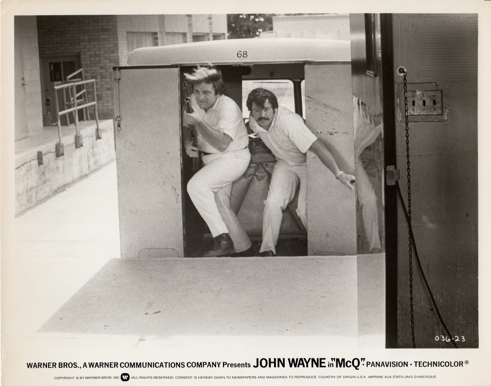 Un silencieux au bout du canon - McQ - 1974 Wayne864