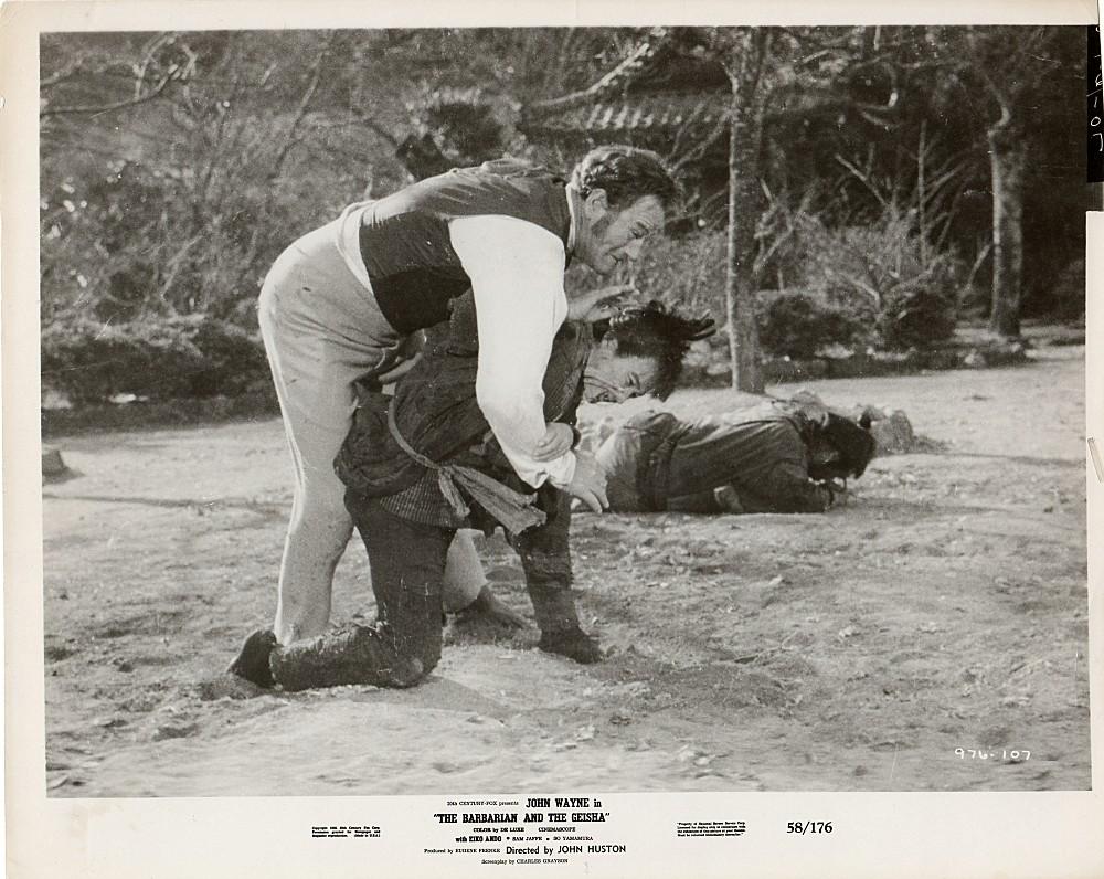 Le Barbare et la Geisha - The Barbarian and The Geisha -1958 Wayne918
