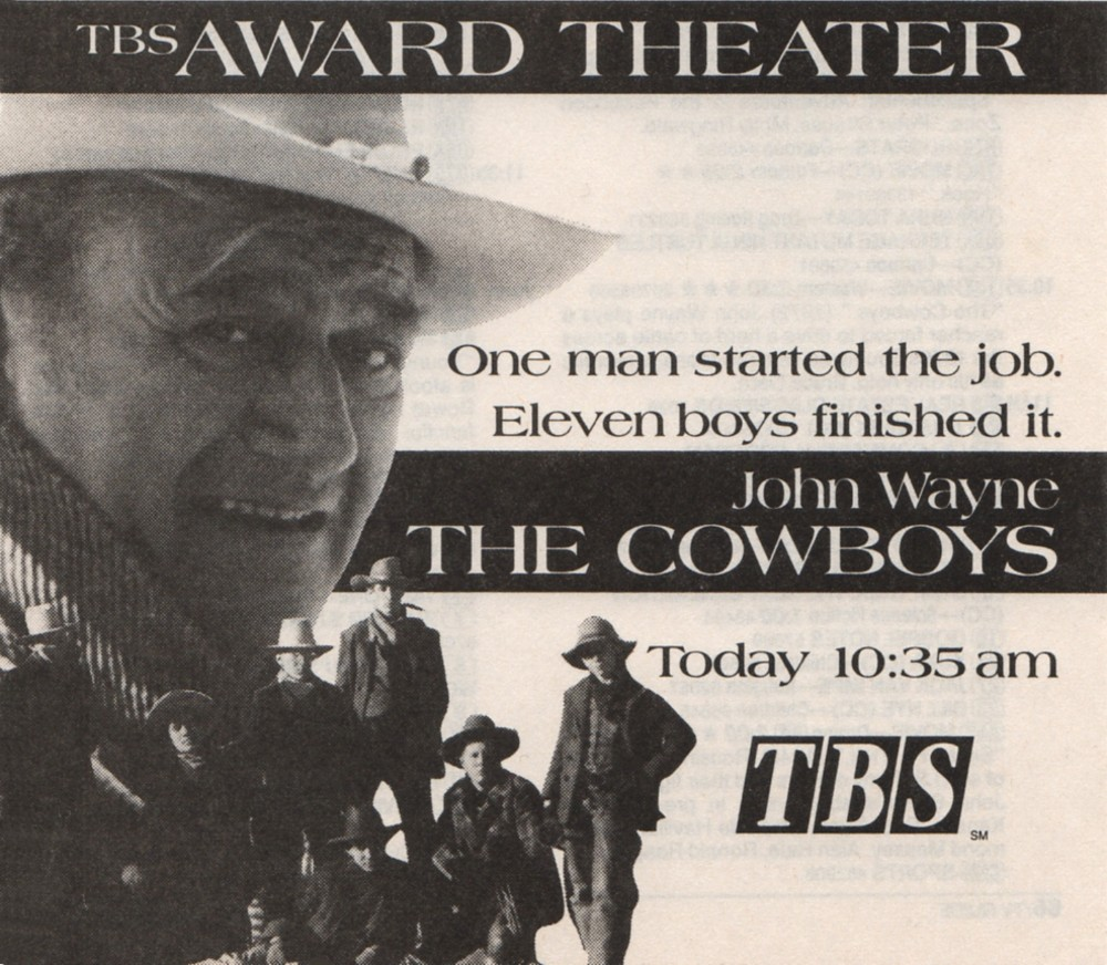 Les cowboys - The Cowboys - 1972 Wayne977