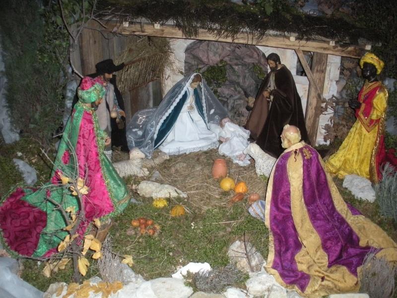 la crèche de Ste Croix édition 2009 Dscn3217