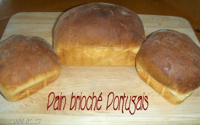 Pain brioché portugais au robot boulanger 1pain_12