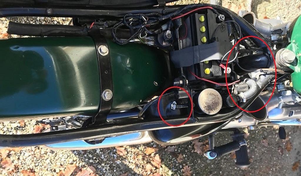 Eclaté moteur triumph t120 Montag14