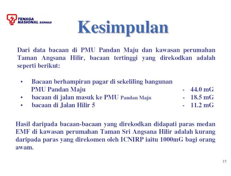 TNB EMF Reading at Taman Sri Angsana Hilir Emf_1510