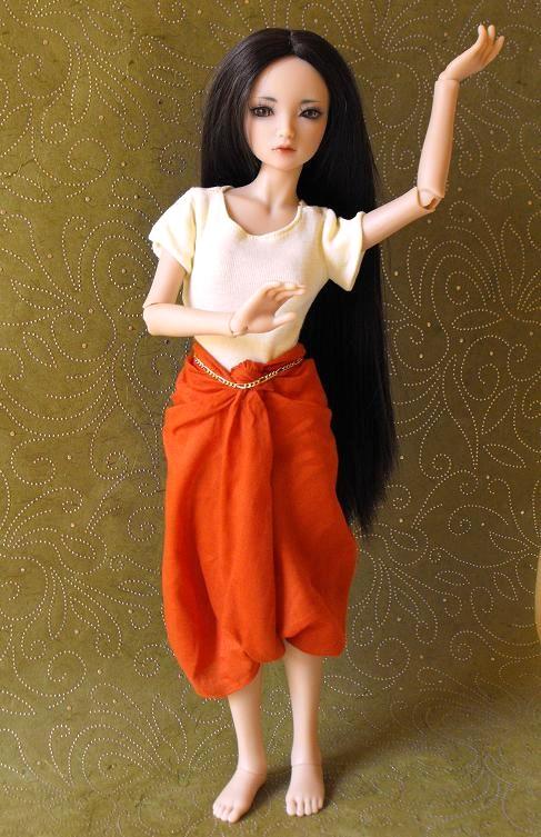 La couture de Linn: t-shirt imprimé, tenue PKF asiatique p.2 Nila3110