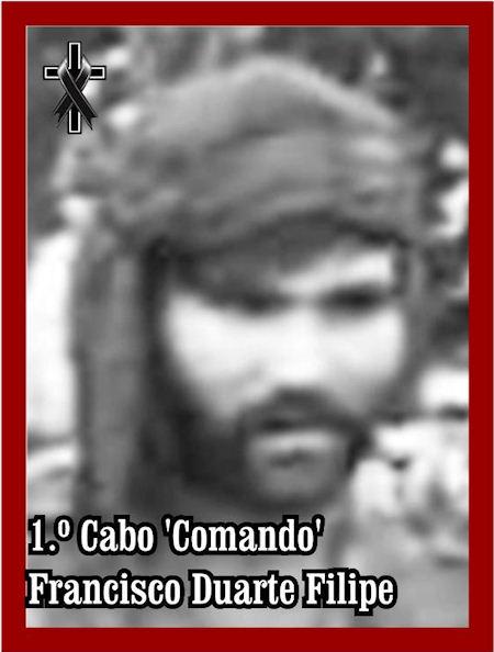 Faleceu o veterano Francisco Duarte Filipe, 1.º Cabo 'Comando', da 38.ªCCmds 38ccmd17