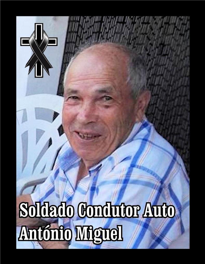 Faleceu o veterano António Miguel, Soldado Condutor Auto, da CArt1515 - 19Dez2019 Antzni25