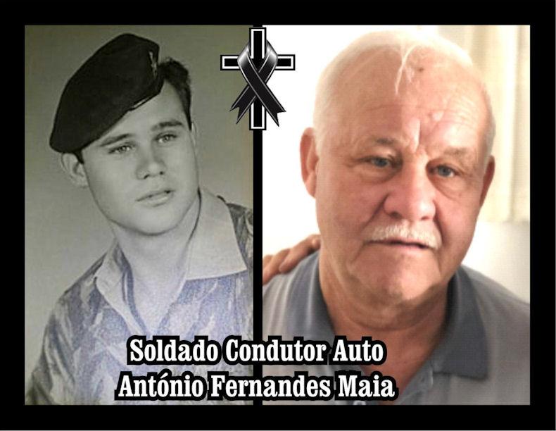 Faleceu o veterano António Fernandes Maia, Soldado Condutor Auto, da 7ªCCmds - 02Jul2020 Antzni32