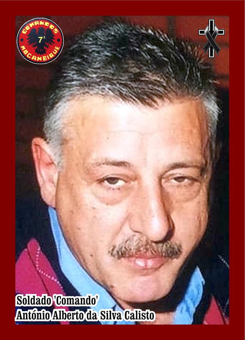 Faleceu o veterano António Alberto da Silva Calisto, Soldado CMD, da 7ªCCmds/BCmdsM - 30Set2021 Antzni60
