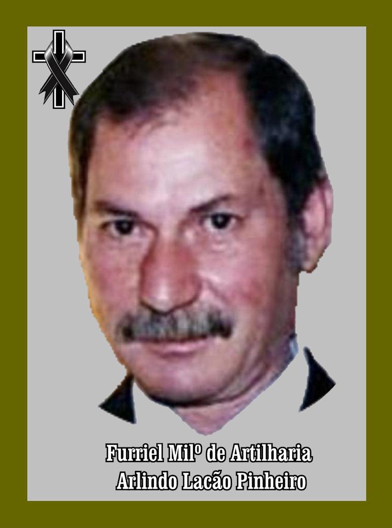 Faleceu o veterano Arlindo Lacão Pinheiro, Furriel Mil.º, da CArt3374 - 29Jul2018 Arlind10