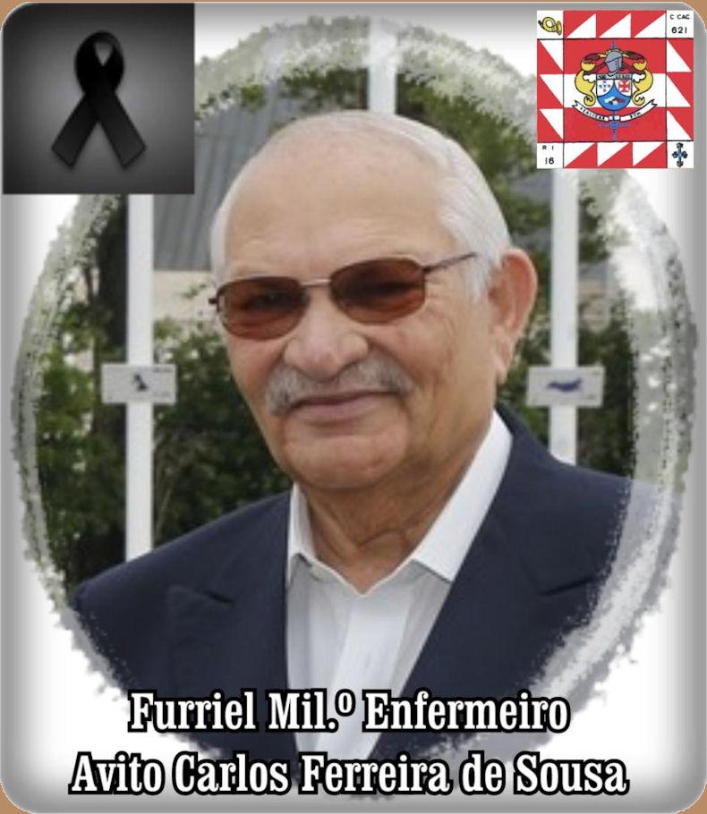 Faleceu o veterano Avito Carlos  Ferreira de Sousa, Furriel Mil.º Enfermeiro, da CCac621 - 21Jan2021 Avito_10