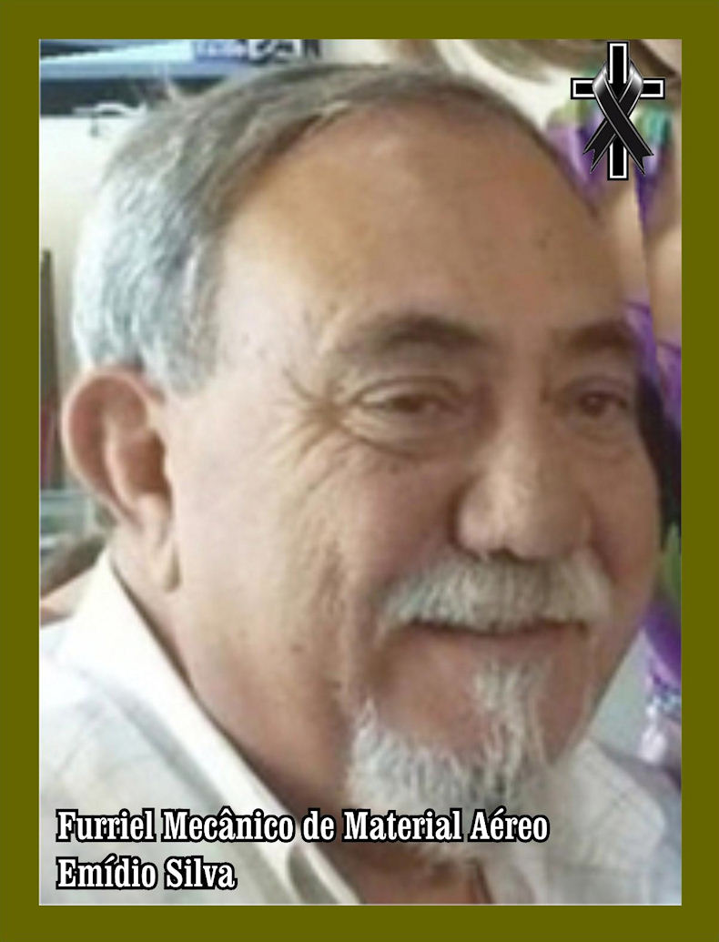 Faleceu o veterano Emídio Silva, Furriel Mecânico de Material Aéreo, da BA10 - 20Ago2019 Ba10-b10