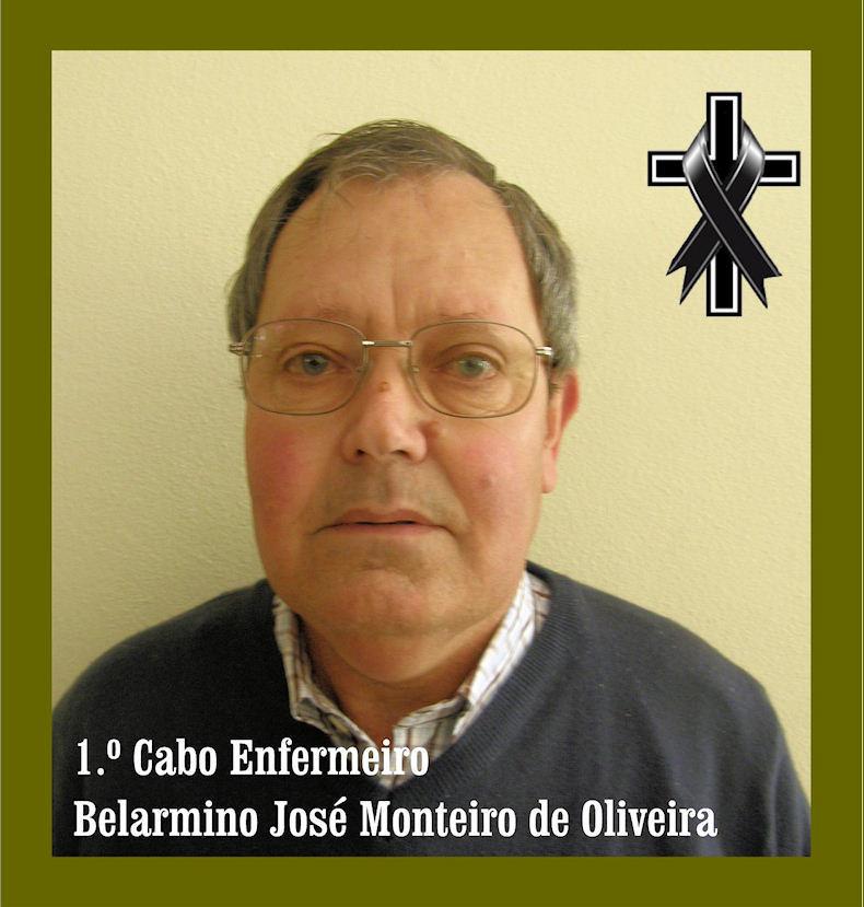 Faleceu o veterano Belarmino José Monteiro de Oliveira, 1.º Cabo Enfermeiro, da CArt1769/BArt1926 Belarm11