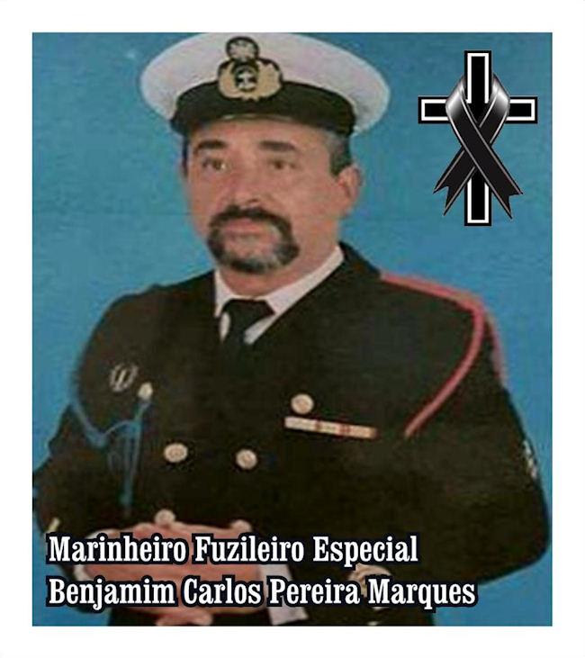 Faleceu o veterano Benjamim Carlos Pereira Marques, MFzE, do DFE11 - 05Ago2019 Benjam12