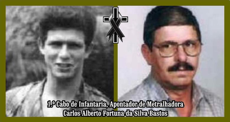 Faleceu o veterano Carlos Alberto Fortuna da Silva Bastos, 1.º Cabo de Infantaria, da 6ªCCacEv/RINL Carlos12