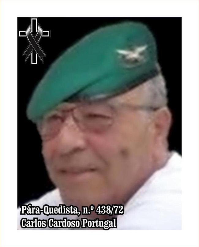 Faleceu o veterano Carlos Cardoso Portugal, Pára-Quedista, do BCP31 - 02Fev2020 Carlos16