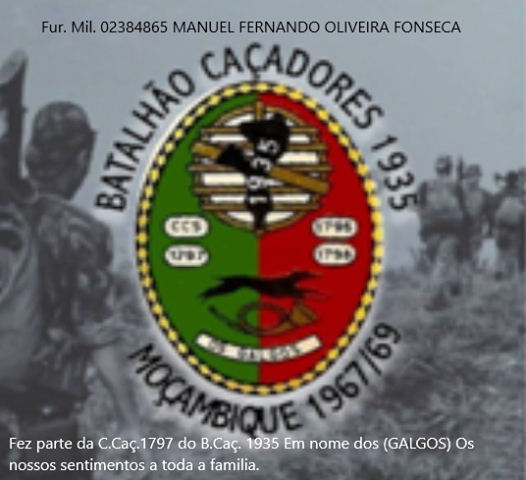 Faleceu o veterano Manuel Fernando Oliveira Fonseca, Furriel Mil.º, da CCac1797/BCac1935 - 23Ago2019 Ccac1710