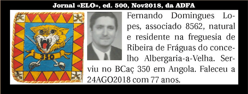 Faleceu o veterano Fernando Domingues Lopes, do BCac350 Fernan10