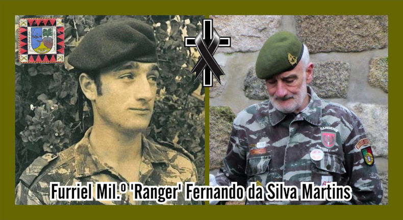 Faleceu o veterano Fernando da Silva Martins, Furriel Mil.º de OpEsp, da CCac4742/72 - 30Jan2021 Fernan27