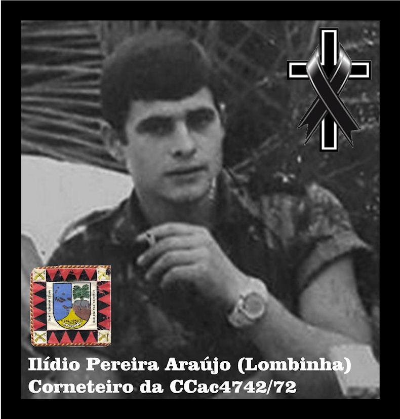 Faleceu o veterano Ilídio Pereira Araújo, Corneteiro, da CCac4742/72 - 13Dez2018 Ilidio10