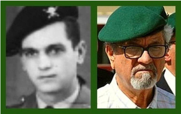 Faleceu o veterano Joaquim Mariano Carvalho Bravo, Soldado PQ, do BCP21 - 08Jul2017 Joaqui11