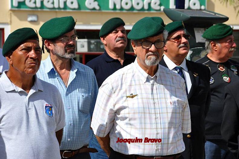 Faleceu o veterano Joaquim Mariano Carvalho Bravo, Soldado PQ, do BCP21 - 08Jul2017 Joaqui22