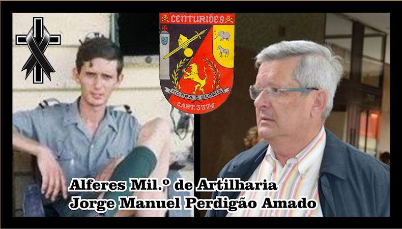 Faleceu o veterano Jorge Manuel Perdigão Amado, Alferes Mil.º de Artilharia, da CArt3374 - 16Fev2019 Jorge_10