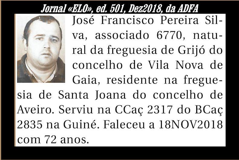 Notas de óbito publicadas no Jornal «ELO» de Dezembro de 2018 da ADFA Josefr10