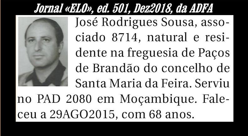 Notas de óbito publicadas no Jornal «ELO» de Dezembro de 2018 da ADFA Josero10