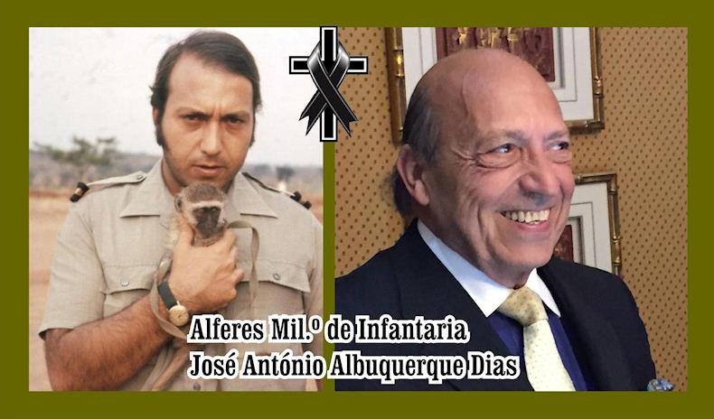 Faleceu o veterano José António Albuquerque Dias, Alferes Mil.º, da CCac3310/BCac3834 - 14Nov2019 Joszo_24