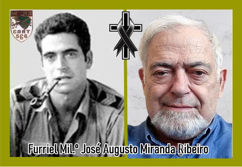Faleceu o veterano José Augusto Miranda Ribeiro, Furriel MIl.º, da CArt566 - 20Dez2020 Joszo_60