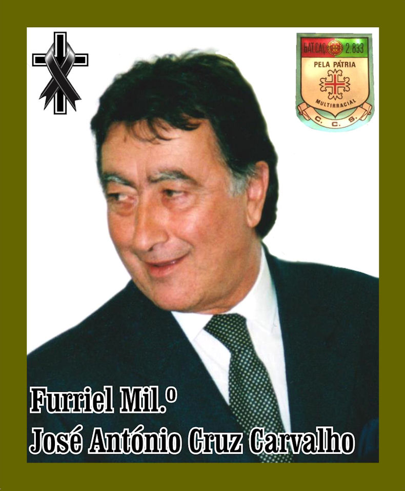 Faleceu o veterano José António Cruz Carvalho, Furriel Mil.º, da CCS/BCac2833 - 07Jun2021 Joszo_67