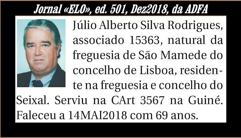 Notas de óbito publicadas no Jornal «ELO» de Dezembro de 2018 da ADFA Julioa10