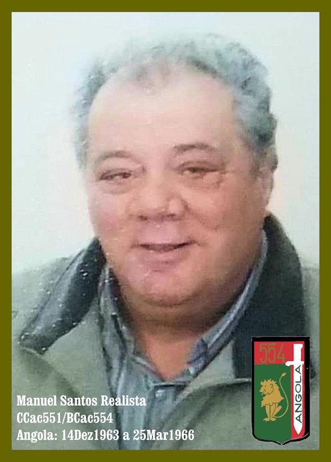 Faleceu o veterano Manuel Santos Realista, da CCac551/BCac554 - 10Dez2018 Manuel10