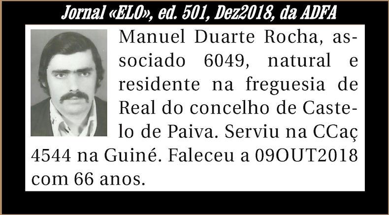 Notas de óbito publicadas no Jornal «ELO» de Dezembro de 2018 da ADFA Manuel11