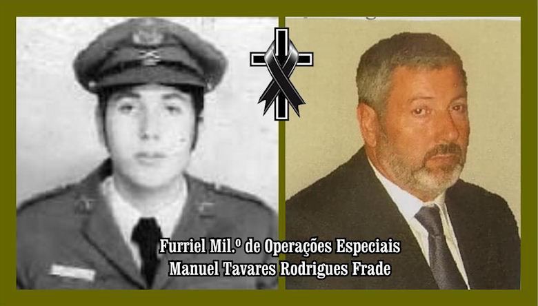 Faleceu o veterano Manuel Tavares Rodrigues Frade, Furriel Mil.º, da 1ªBCac4810/74 - 09Mai2019 Manuel17